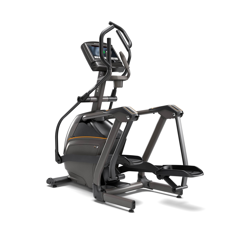 matrix e50 xir compact suspension elliptical trainer w induction